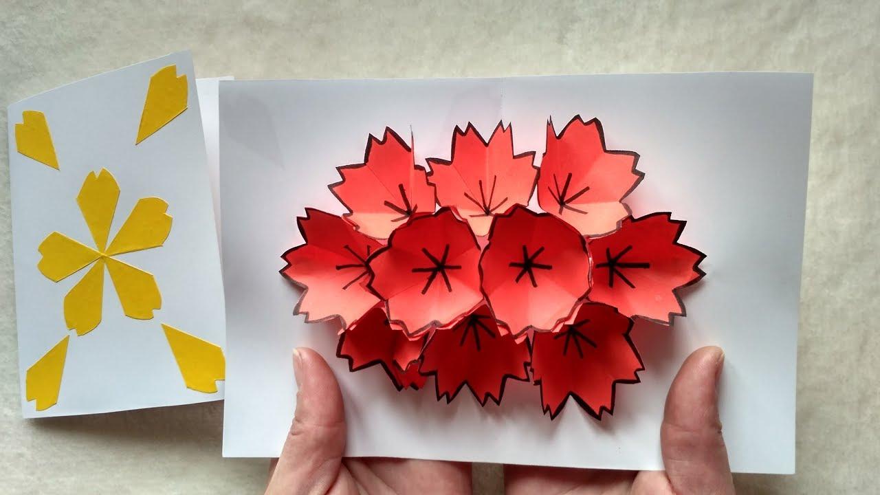 Открытка оригами для бабушки своими руками, показывает язык красивая