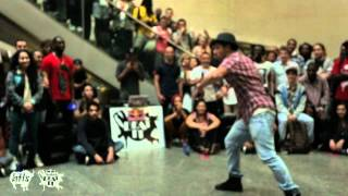 JEREMY vs. SARAH BEE | Gare St. Lazare Semi-Final  | Red Bull Beat It 2012 | YAKFILMS