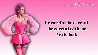 Cardi B - be careful (lyrics video)