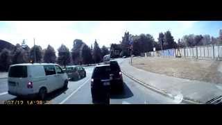Уроки вождения видео 1