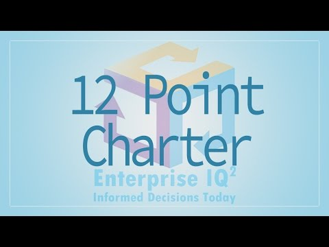 EnterpriseIQ² - 12 Point Charter