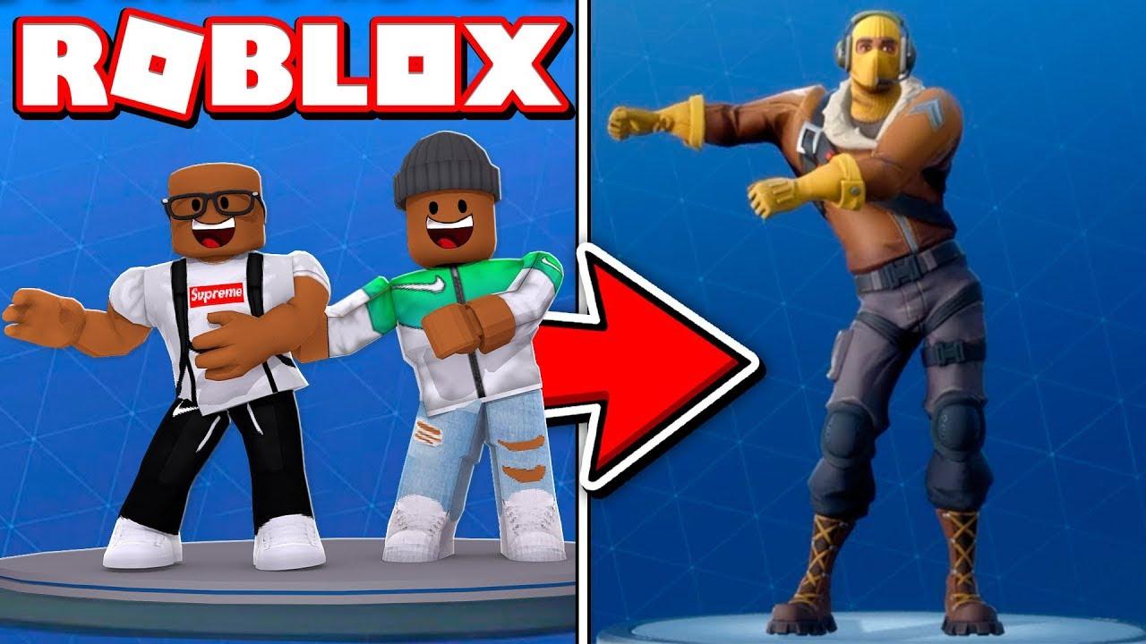 2 Player Fortnite Dance Challenge In Roblox - roblox videos jones got game