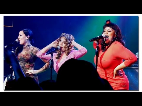 "Haley Reinhart, Ariana Savalas & Maiya Sykes ""All About That Bass"" Las Vegas"