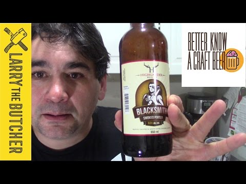 My son says OH CRAP!  Better know a craft beer.  Highlander brewing Blacksmith Smoked Porter