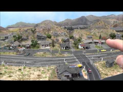 Planning and Executing an N Scale Scene
