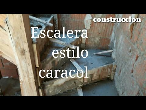 Escalera caracol de concreto en hormigon armado aka videos for Como trazar una escalera de caracol de concreto