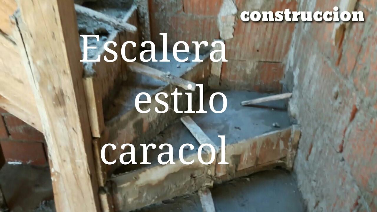 Escalera caracol de concreto en hormigon armado youtube for Como trazar una escalera de caracol de concreto