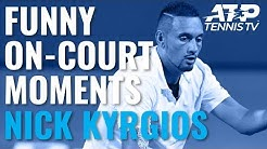 Nick Kyrgios Funniest On-Court Chat 😂