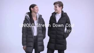 UNIQLO | Outerwear collection: Down coats & Chesterfield coats