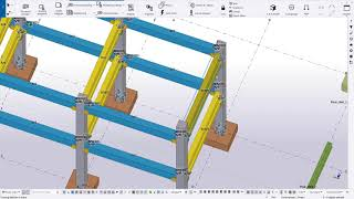 Display dimension associativity in Tekla Structures 2019