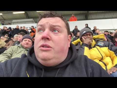 Colchester United F.C. 2 v Barnet F.C. 1 | Worrying times ahead | (11/02/17) Matchday Vlog