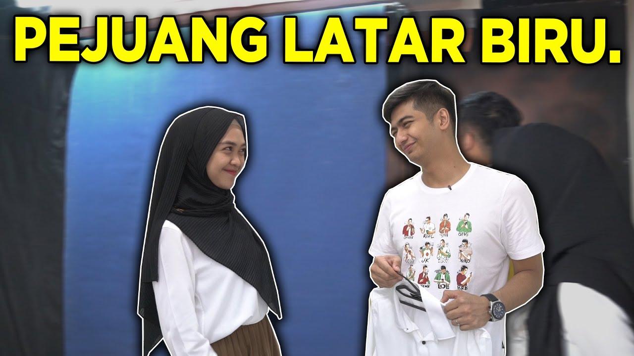 AKHIRNYA RICIS & RYAN FOTO LATAR BIRU.. Bismillah..
