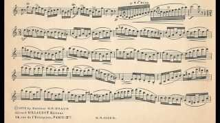 Prosper Mimart Clarinet Etude No. 1
