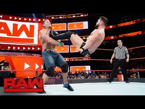 John Cena vs. Finn Bálor - Elimination Chamber Qualifying Match: Raw, Jan. 29, 2018