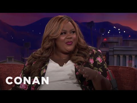 Nicole Byer Was Gifted A 2Foot Dildo   CONAN on TBS
