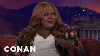 Nicole Byer Was Gifted A 2-Foot Dildo  - CONAN on TBS