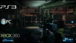 Battlefield 3 - PC vs Xbox 360 vs PS3 Comparison | Bucketcat