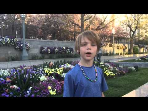 129 - Across the USA - Temple Square, Salt Lake City