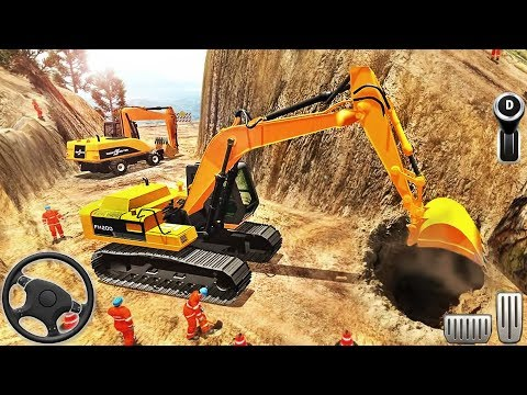 Road Builder 2018: Off-Road Construction - Excavator Simulation - Android GamePlay