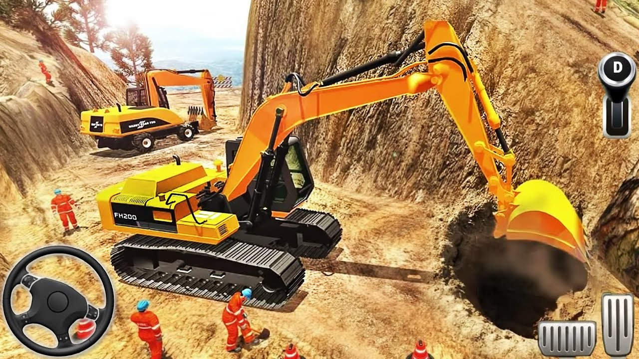 Road Builder 2018: Off-Road Construction – Excavator Simulation – Android GamePlay