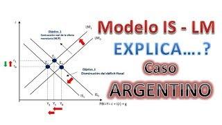 Aplicacion del Modelo IS LM al caso AREGNTINO