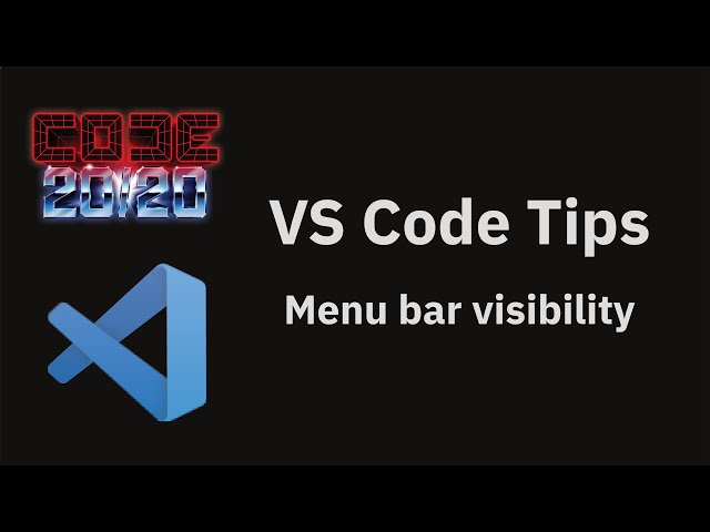 Menu bar visibility