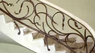 Красивые кованые перила для лестницы в доме(посмотреть http://kovka-dveri.com . Красивые кованые перила для лестницы в доме. Красивые кованые перила для лестницы..., 2016-10-14T11:10:14.000Z)