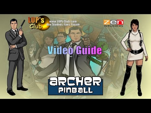 Zen Pinball 2 & Pinball FX2 (Balls of Glory) : Archer Pinball (Video guide LUP