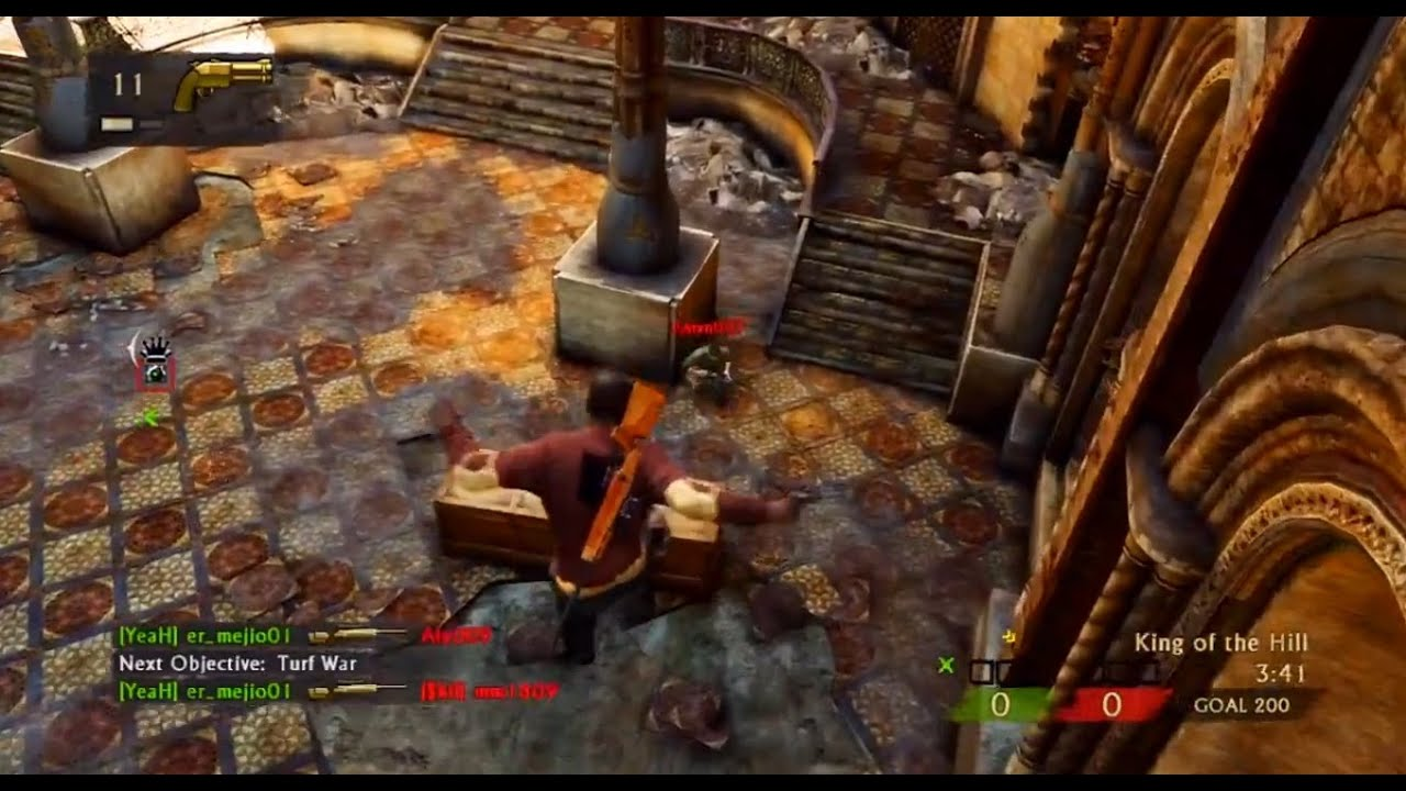 Uncharted 3 - Live Commentary - The Lab Team Objective (UC3 Online Multiplayer Gameplay)