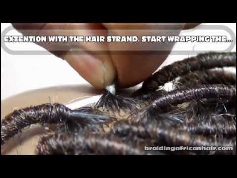 How to do hair wraps with afro kinky hair extensions quickly youtube how to do hair wraps with afro kinky hair extensions quickly pmusecretfo Image collections