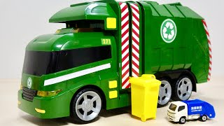 光って音が鳴る!大きなリサイクルトラックをご紹介☆ マーブルラン HABA木製ウェーブコースをビー玉が転がるよ
