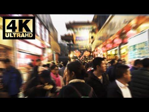 A walk in Wangfujing, Beijing | What's it like in China? 《4K》