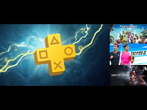 Sony PS+ Games for August - Plants vs Zombies, Tennis World Tour 2 & Hunters Arena!! (Good or Bad) |