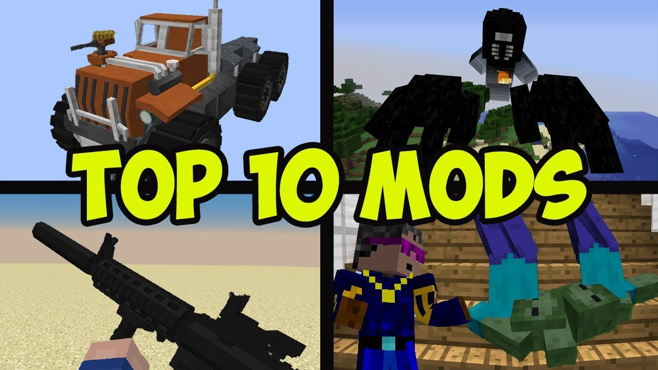Top 10 Minecraft Mods 1.14.3 - BEST MODS (05.2019) - YouTube