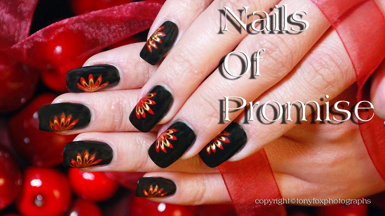 Easy Beginners Live Nail Art Tutorial Step By Nails Of Promise