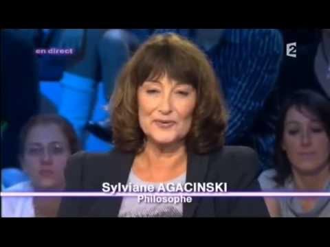 """Sylviane Agacinski """"Drame des sexes"""" - On n'est pas couché 11 octobre 2008 #ONPC"""