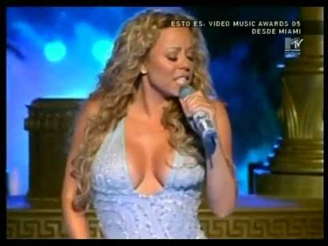 Mariah Carey - Shake It Off & We Belong Together Remix (Live at MTV VMA 2005)