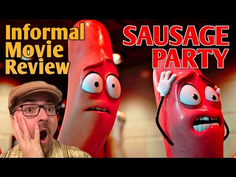 SAUSAGE PARTY | A Subversively Strong Satire | An *Informal* Movie Review