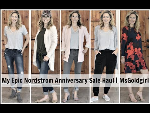 My EPIC Nordstrom Anniversary Sale Haul | MsGoldgirl