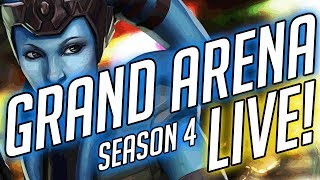 GRAND ARENA LIVE!  It's FINALLY back! | Star Wars: Galaxy of Heroes
