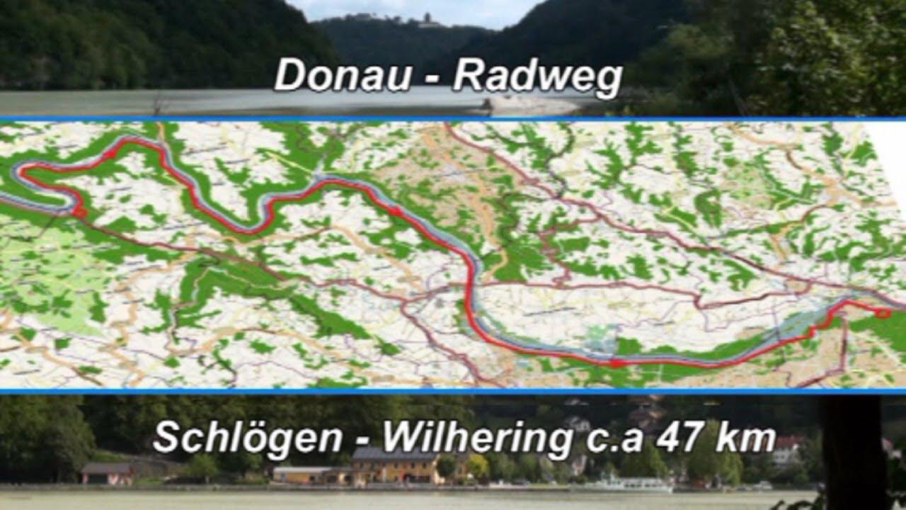 Fietstocht Schlögen - Wilhering (Donau-Radweg) - YouTube
