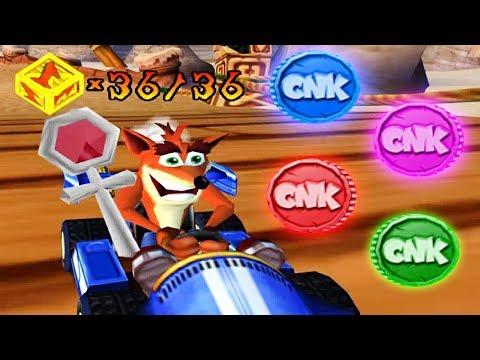 Crash Nitro Kart - CNK & Platinum Relics (101% Walkthrough) Part 5