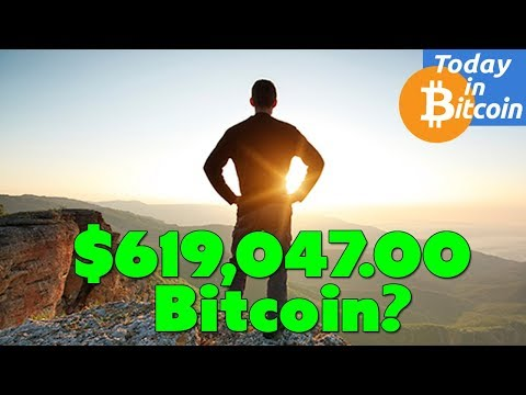 Today in Bitcoin (2017-08-20) - Could Bitcoin reach $619,047 in 10 years?