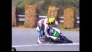 Crash  gare  velocita  salita   moto