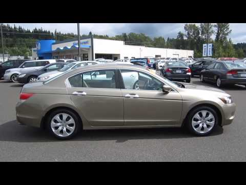 2009 Honda Accord, Gold - STOCK# 6265D - Walk around