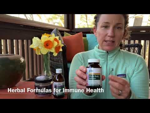 Herbal Formulas for Immune Health