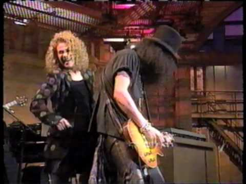 Carole King With Slash On The Late Show With David Letterman