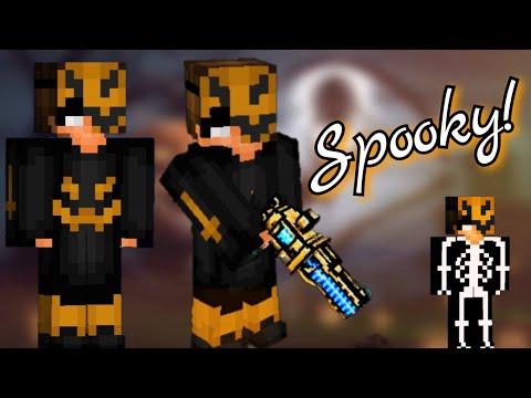 How To Make A Spooky Halloween Boy Skin In Pixel Gun 3D