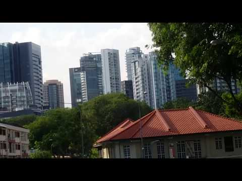 Full Green route Singapore bus citytour (HD) Tours and Vacat