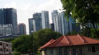Full Green route Singapore bus citytour (HD) Tours and Vacations